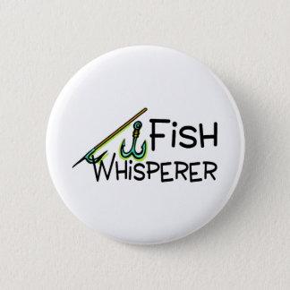 FiskWhisperer Standard Knapp Rund 5.7 Cm