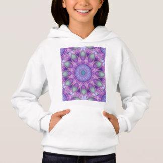 Fjäderdans, abstrakt purpurfärgad Orchidlavendel Tee Shirts