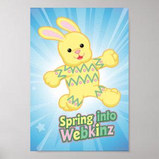 Fjädra in i Webkinz! Poster
