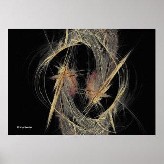 Fjädrar Poster