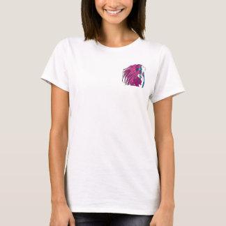 Fjädrar i vinden t-shirts