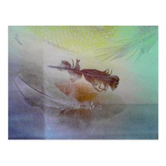 Fjädrar Vykort