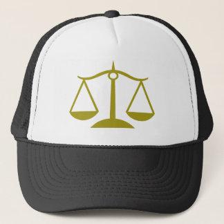 Fjäll av rättvisa - guld truckerkeps