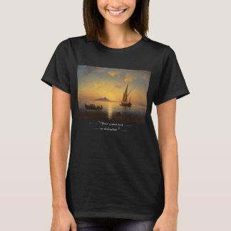 Fjärd av Naples Ivan Aivazovsky T-shirt