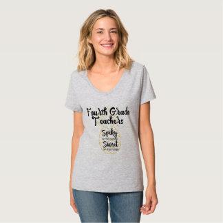 Fjärde 4th klasslärare för ananas t-shirts