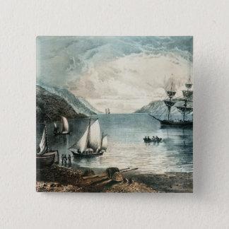 Fjärden av Annapolis, c.1880 Standard Kanpp Fyrkantig 5.1 Cm