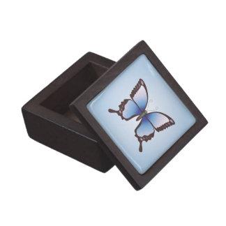 Fjäril: Den högvärdiga gåvan boxas Premie Smyckeskrin