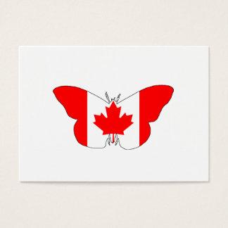 Fjäril Kanada Visitkort