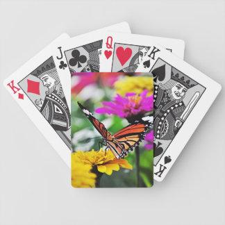 Fjäril på blommor #2 spelkort