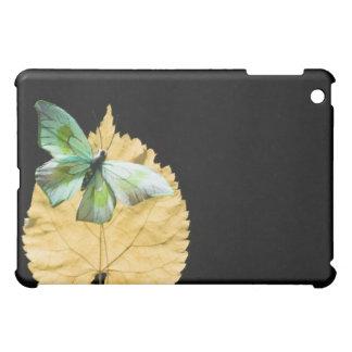 Fjäril på löv iPad mini mobil fodral