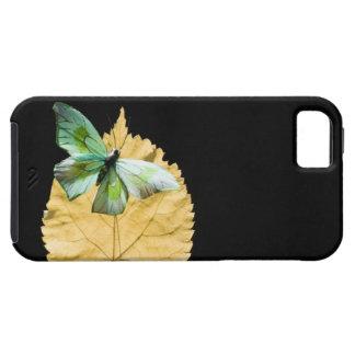 Fjäril på löv iPhone 5 Case-Mate fodral
