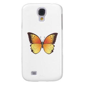 Fjäril: Vektorillustration: Galaxy S4 Fodral
