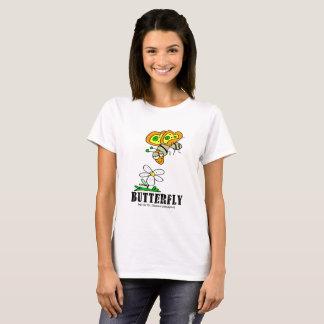 Fjäril vid Lorenzo kvinna T-tröja Tee Shirts