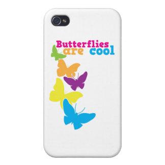 fjärilar är kalla iPhone 4 fodral
