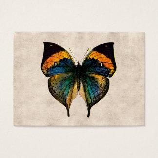 Fjärilar för vintagefjärilsillustration 1800's visitkort