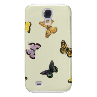 Fjärilar Galaxy S4 Fodral