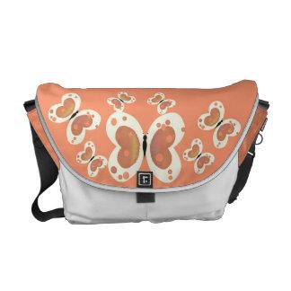 Fjärilar Kurir Väska