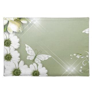 Fjärilar och daisy bordstablett