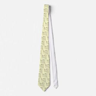 Fjärilen fodrar teckningen slips