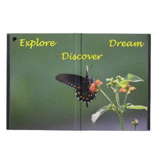 Fjärilen undersöker, drömm och upptäcker iPad air skal