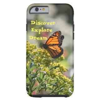 Fjärilen upptäcker undersöker dröm tough iPhone 6 fodral