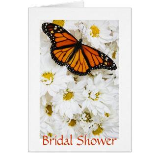 Fjärils- & daisymöhippa hälsnings kort