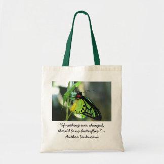 Fjärilsändringar Tote Bags