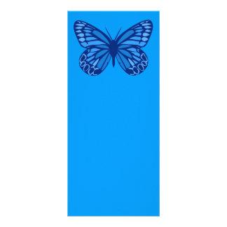 Fjärilsdeppighet Rackkort Mallar