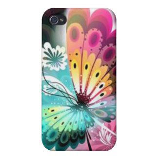 Fjärilsglöd iPhone 4 Skal