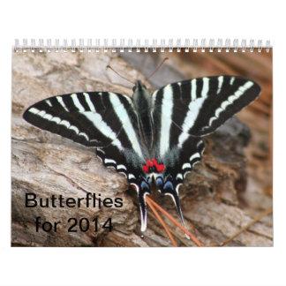 Fjärilskalender 2014 kalender