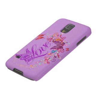 Fjärilskärlek Galaxy S5 Fodral