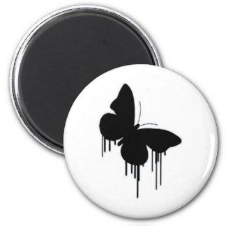 Fjärilspannkakor Magnet