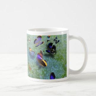 Fjärilssång av den Cherokee legenden Kaffemugg