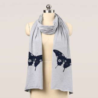 Fjärilsscarf Halsduk
