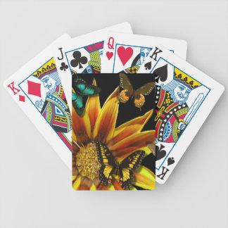 Fjärilsträdgårdar Spelkort