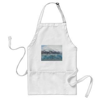 Fjord Alaska för glaciärEndicott arm Förkläde
