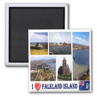 FK - Falkland Islands - jag älskar Magnet
