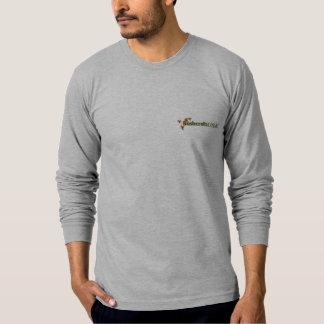 Flå den åtsittande långärmadutslagsplatsen tröjor