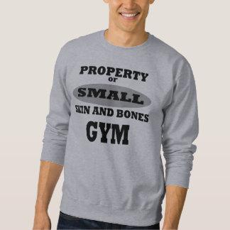 Flå och benar ur gym.en lång ärmad tröja