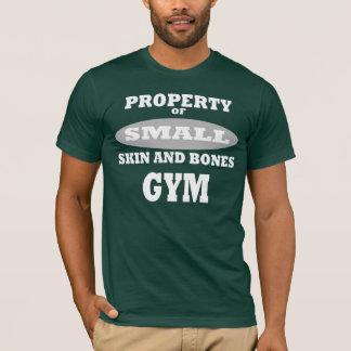 Flå och benar ur gym.en tee shirt