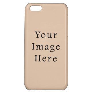 Flå tonar för den neutrala den tomma mallen färgtr iPhone 5C skydd