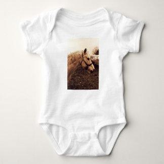 Fläckig häst och buss tee shirts