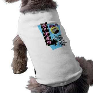 Fläcks inspirerad älsklings- T-tröja för middag Re Långärmad Hundtöja