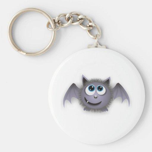 Fladdermöss batty Lil Nyckel Ringar