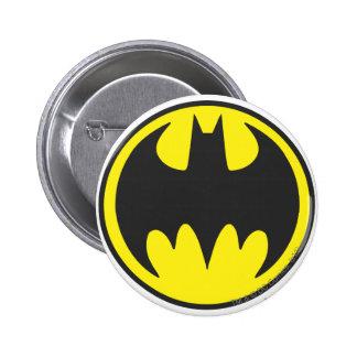 Fladdermöss för uppassaresymbol | cirklar standard knapp rund 5.7 cm