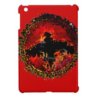 Fladdermöss på Fire konst iPad Mini Skal
