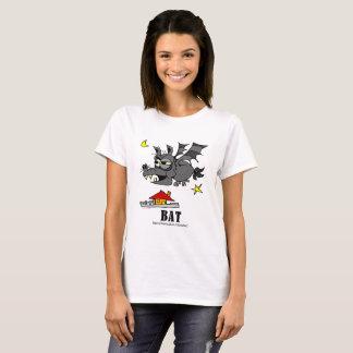 Fladdermöss vid Lorenzo kvinna T-tröja Tshirts