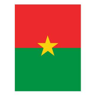 flag_burkina_farso vykort