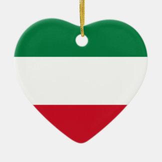 Flag_of_Kuwait Julgransprydnad Keramik
