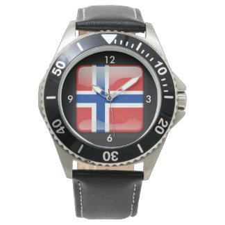 Flag_of_Norway Armbandsur